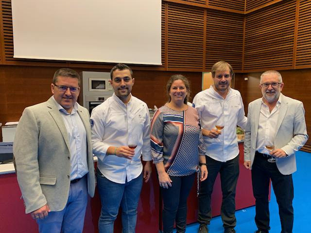 Show Cooking con Atún Gadira en Gastronomika 2019
