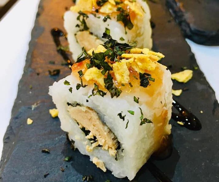 Sushi de hueva de Sushi Time Vejer