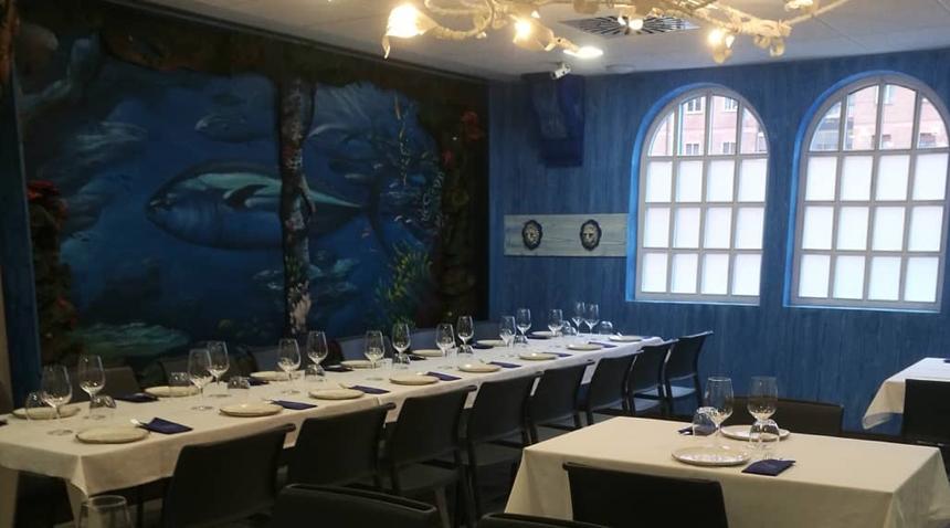 Sala del restaurante El ronqueo