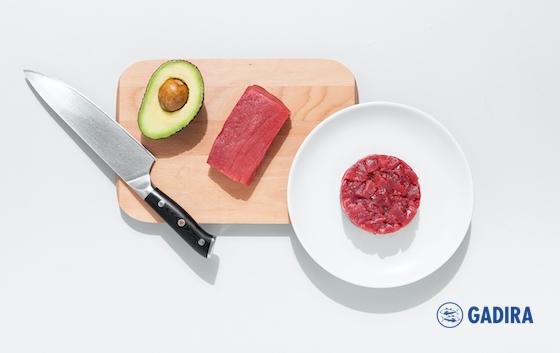 Tartar de atún rojo Gadira